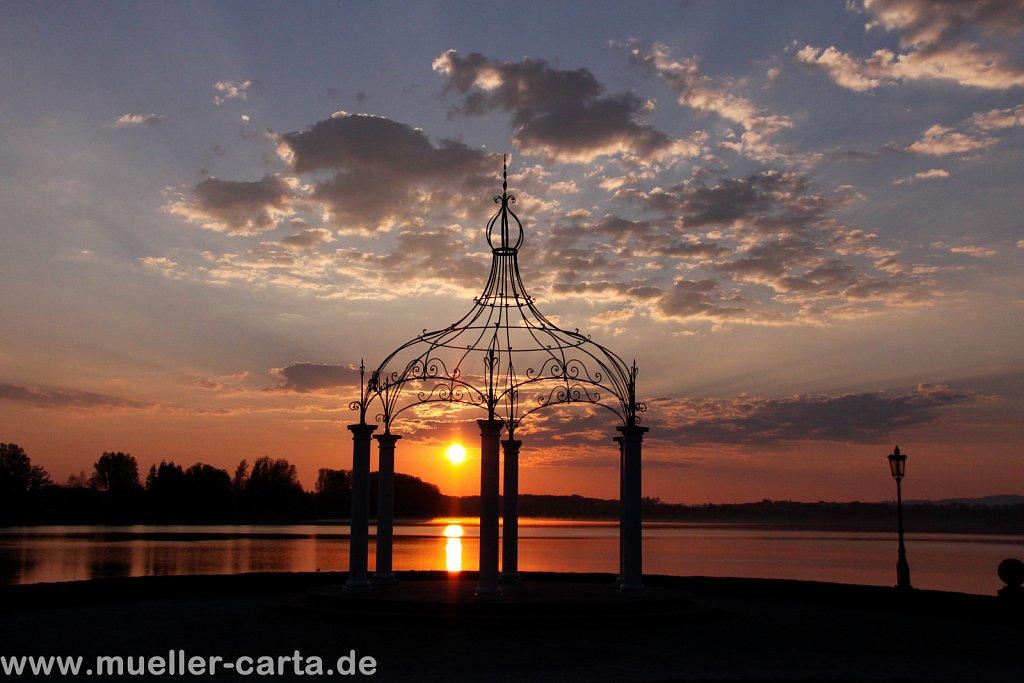 Sonnenaufgang in Waging am See